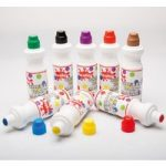 Scola CM75/8/AC Chubbi Paint Markers – Assorted Set of 8