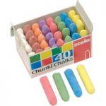 Scola AS29 Chunki Chalks Assorted – Box of 40