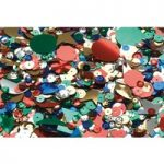 RVFM Assorted Sequins 100g Tub