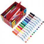 Giotto 461200 Bebe Fibre Pens Class Pack 36