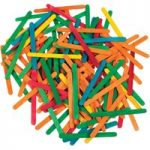 Artstraws Lollipop Sticks, Assorted Colours 115 x 11mm Pack of 1000
