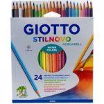 Giotto 255800 Stilnovo Acquarell Watercolour Pencils – Pack of 24