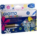 Giotto 452900 Décor Metal Pen Box 5