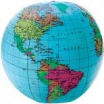 Learning Resources 12″ Inflatable Globe