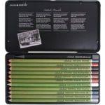 Daler Rowney Artists Sketching Pencils (Tin of 12)