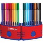 Stabilo Pen 68 Colorparade – Wallet of 20
