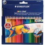 Staedtler 14410CN24 Noris Club Aquarell Watercolour Pencils – Pack…