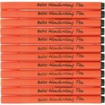 Berol Handwriting Pens Light Blue (Pack of 12)