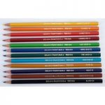 Berol Verithin Pencils – Pack of 12 Assorted Colours
