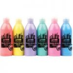 Brian Clegg Ready Mix Pearlescent Paint (Assorted) 6 x 300ml Bottles