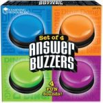 Learning Resources Answer Buzzers Pack 4