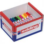 Edding CP15 4500 Textile Marker Assorted 40 Pack