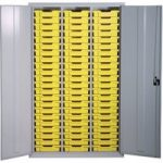 Gratnells Lockable Cupboard with 51 Storage Trays