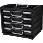 Raaco 137225 HandyBox 55 x 4 – Black/Silver