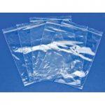 RVFM GL09 Self Seal Mini Grip Plain Polythene Bags 125 x 190mm 160…