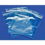 RVFM GL04 Self Seal Mini Grip Plain Polythene Bags 90 x 115mm 160 …
