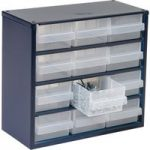 Raaco 137553 600 Series 612-02 Cabinet 12 Drawers