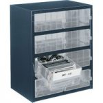 Raaco 137584 8-2 8 Drawer 250 Series Storage Cabinet