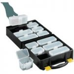 Topstore Assortment Case With 12 Removable Compartments – Pack Of 5