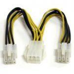 StarTech PCIEXSPLIT6 150mm PCI Express 6-pin Power Splitter Cable