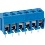TruConnect 6-Way 20A End Stack Terminal Block 5mm