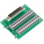WAGO 289-444 PCB Interface Module with Male Subminiature D Type 50…