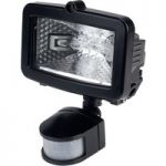 Timeguard SLB100G 100W Black Halogen PIR Floodlight
