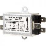 Schurter 5500.2041 6A 250V Chassis Mount 1-Phase Line Filter
