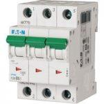 EATON PLSM-C6/3-MW Miniature Circuit Breaker 6A C-type TP 10kA 242468