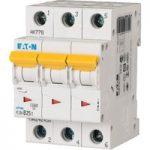 EATON PLSM-C25/3-MW Miniature Circuit Breaker 25A C-type TP 10kA 2…