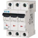 EATON PLSM-C40/3-MW Miniature Circuit Breaker 40A C-type TP 10kA 2…