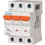 EATON PLSM-C63/3-MW Miniature Circuit Breaker 63A C-type TP 10kA 2…