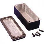 Hammond 1550WABK IP66 Diecast Aluminium Enclosure Black (89 x 35 x…