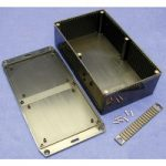 Hammond 1591EFLBK Multipurpose FRABS Enclosure Flanged Lid 191 x 1…