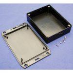 Hammond 1591GFLBK Multipurpose FRABS Enclosure Flanged Lid 121 x 9…