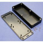 Hammond 1591HFLBK Multipurpose FRABS Enclosure Flanged Lid 165 x 7…