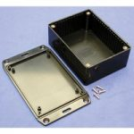 Hammond 1591SFLBK Multipurpose FRABS Enclosure Flanged Lid 110 x 8…