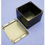 Hammond 1591VFLBK Multipurpose FRABS Enclosure Flanged Lid 120 x 1…