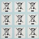 Customark WEEE LABELS Weee Labels 10 x 10mm – Pack of 500