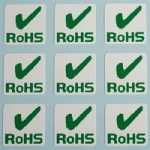 Customark RoHS Labels 10 x 10mm – Pack of 500
