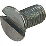 Affix Slotted Countersunk Machine Screws BZP M3 6mm – Pack Of 100