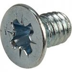 Affix Pozi Countersunk Machine Screws BZP M4 6mm – Pack Of 100