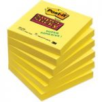 Post-it® Super Sticky Ultra Yellow 76x76mm – Pack of 6