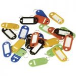 Sealey SKTAG25 Key Tags Pack Of 25 – Assorted Colours
