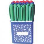 RVFM Economy Assorted Bullet Dry Wipe Pen – Pack of 36