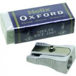 RVFM Metal Pencil Sharpener and Helix Oxford Eraser Set