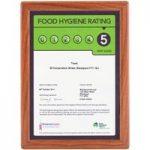 Metroplan Busygrip® Wood Certificate Frames 297x210mm