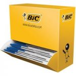 BiC Medium Cristal Blue Pen Pack 90 + 10 Free