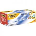 BiC Velleda 1721 White Board Marker Red (Box of 24)
