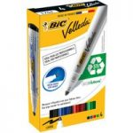 BiC Velleda 1701 White Board Marker Assorted (Pack of 4)